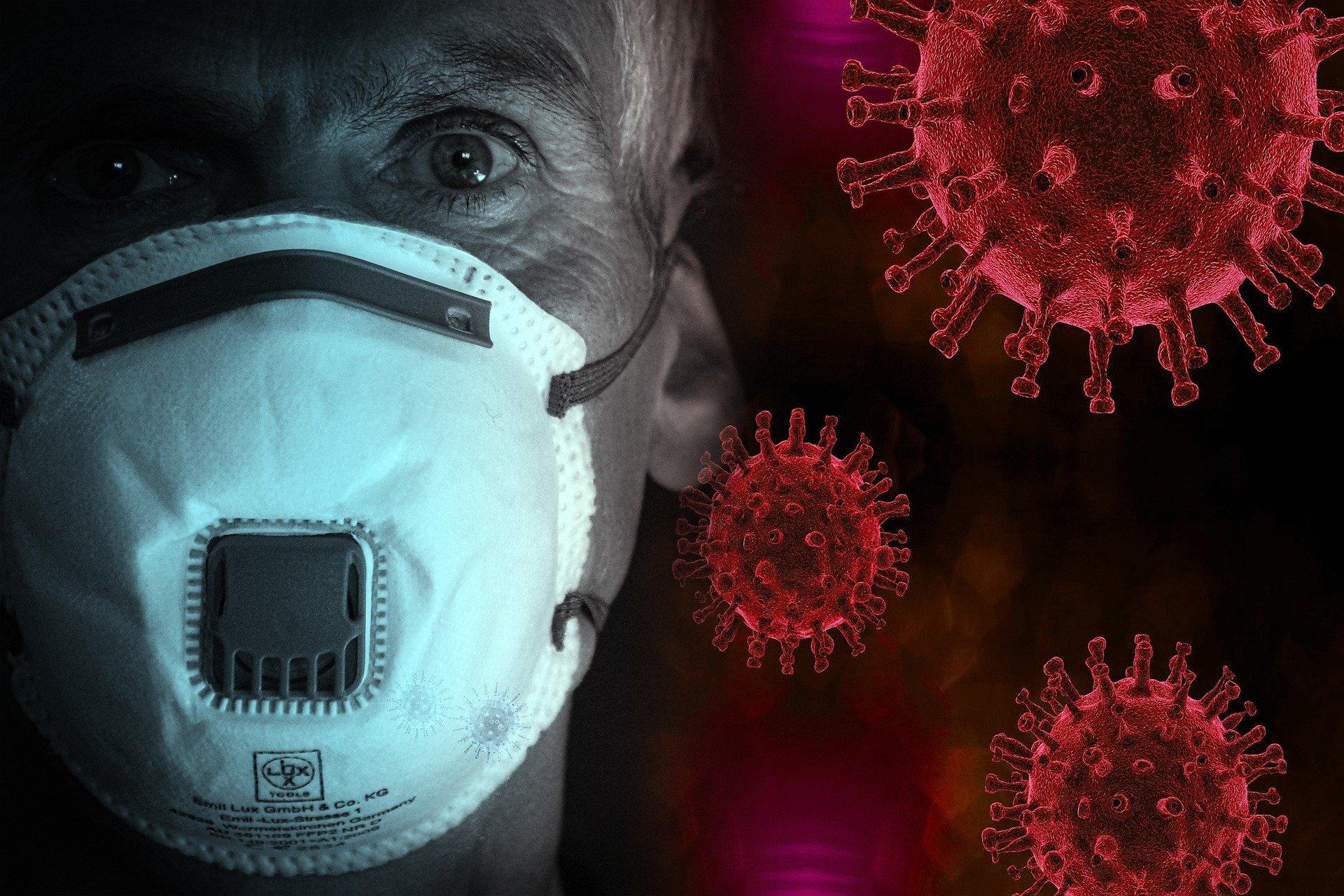 Coronavirus COVID19 Maske Pandemie Epidemie Krise Wien Österreich Umzug