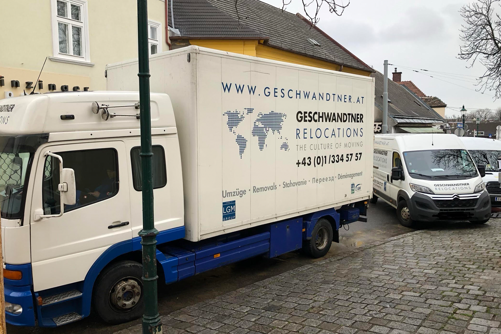 Umzugsfirma Wien Möbelpacker Übersiedlung