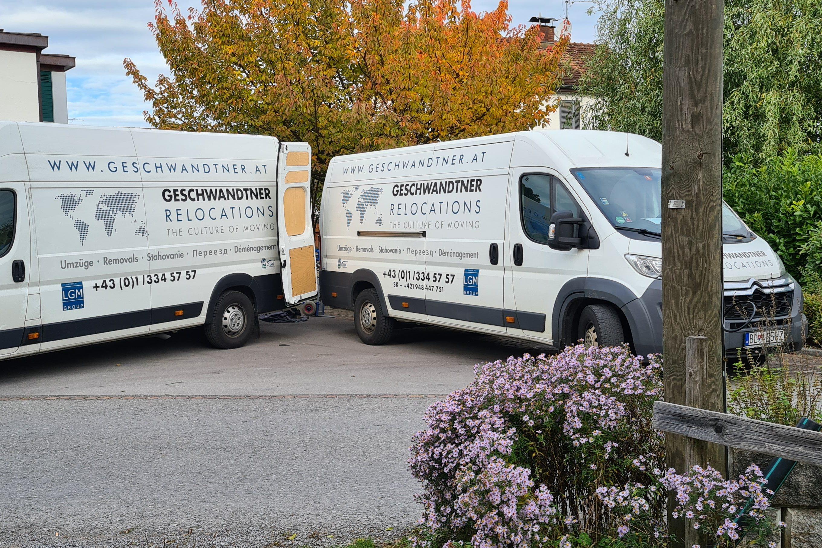 Umzugsfirma Wien Geschwandtner GmbH Umziehen in Österreich
